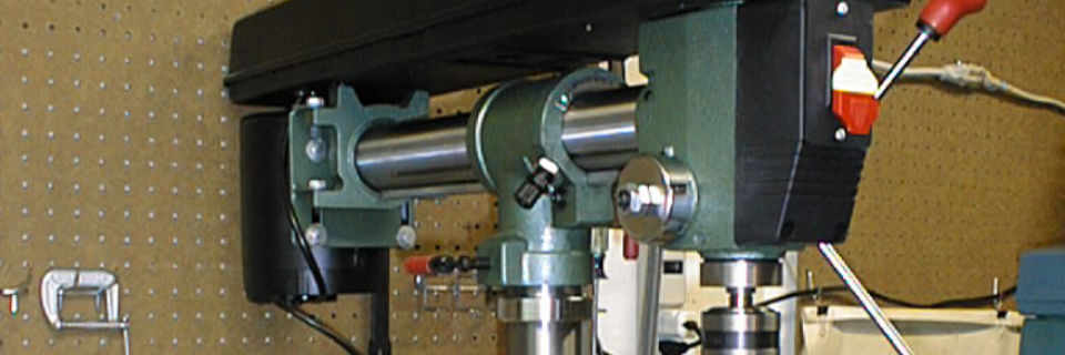 Grizzly Radial Drill Press Review - The ATMs Workshop
